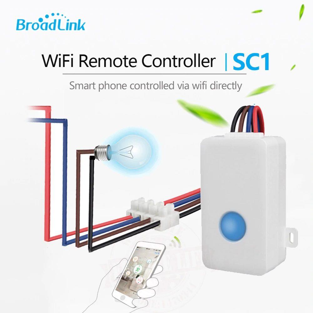 2018-Broadlink-SC1-Wireless-Wifi-Remote-Control-Power-Switch-Smart-Home-Automation-Modules-Controller-via-iOS